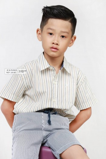 Kids Short Sleeves Shirt