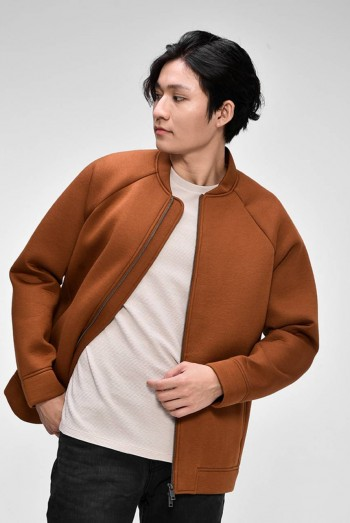 Men Long Sleeves Bomber Jacket