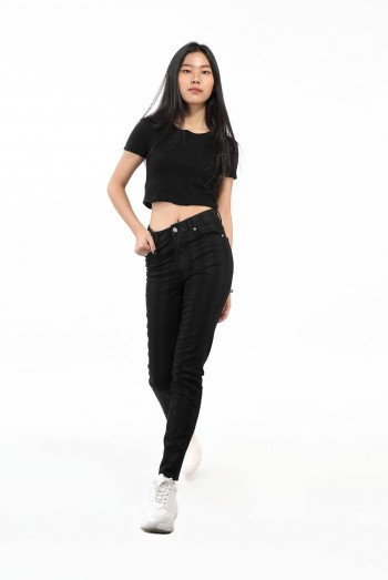 Ten11 Lady Striped Jeans