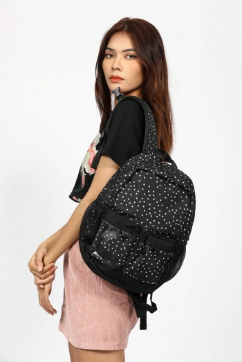 Ten11 Printed Backpack Bags