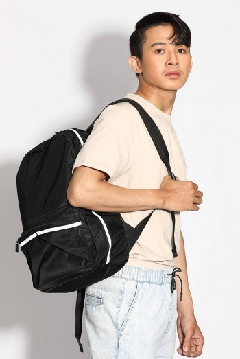 Ten11 Side Striped Backpack Bags