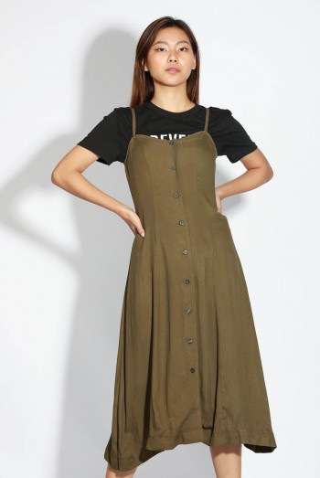 Ten11 Lady Cami Maxi Dress