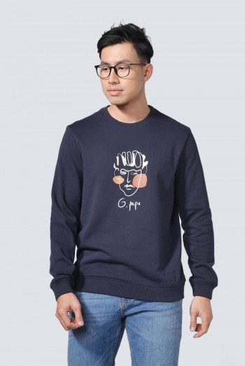 Men Long Sleeves Sweater Shirt