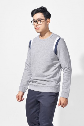 Men Long Sleeves Fitted Sweater Shirt