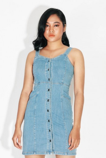 Ten11 Lady Denim Jumpsuit